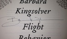 Barbara Kingsolver's Autograph