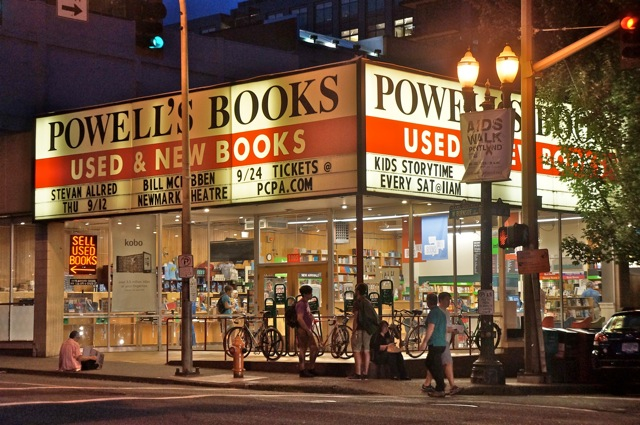 Powell's Marquee